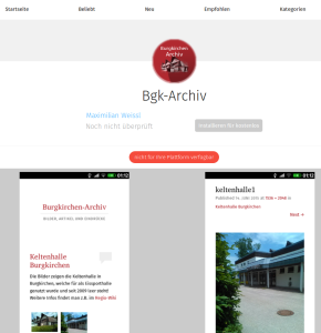 App im Firefox Marketplace